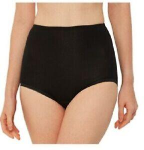 Senior Girls High School Cotton Full Briefs Black underwear Knickers 13-18 yrs