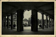 Franzensbad Františkovy Lázně Tschechien Česká Böhmen 1933 Kolonada Säulen Kur
