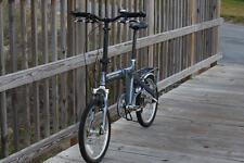 Downtube 9 Front Suspension Folding Bike
