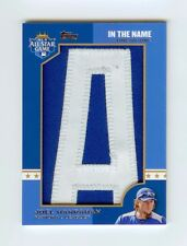 2013 Topps In The Name Letter Relic 1/1 Joel Hanrahan All Star Game Pirates