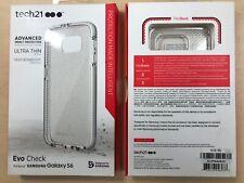 Tech21 Evo Check case for Samsung Galaxy S6 - Clear / White