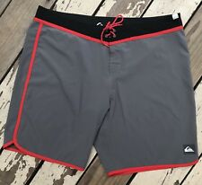 QUIKSILVER SURF • Men's Board Shorts STRETCH Swimming Trunks waist size 40