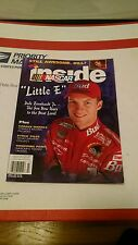 "JULY 1999 INSIDE NASCAR MAGAZINE ""LITTLE E""  COVER"