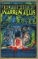 From the Desk of Warren Ellis #1-2000 vf 8.0 1st Standard Cover Avatar