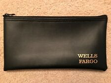 Wells Fargo Bank Deposit Bag (Money Bag) With Zipper *Brand New*