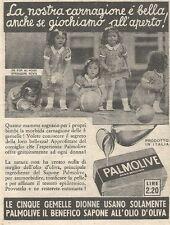 Y3023 Sapone PALMOLIVE - La nostra carnagione... - Pubblicità del 1939 - Old ad