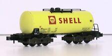 "Spur N  51326200Trix / Minitrix Güterwagen der DB Tankwagen ""Shell"" (N 227-230)"