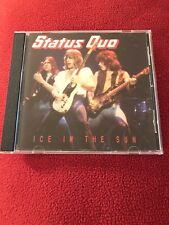 Ice In The Sun by Status Quo (CD, 1991, Castle UK) 12 Track Compilation