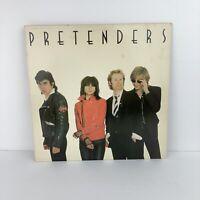 """Vintage Pretenders Self Titled Debut 1979 12"""" LP Vinyl Record Album"""