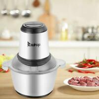 Electric Meat Grinder Multi-function Stainless Sausage Maker Vegetable Cutter US