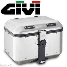 Top case GIVI Dolomiti aluminium embouti 46L moto voyage trekking topcase NEUF