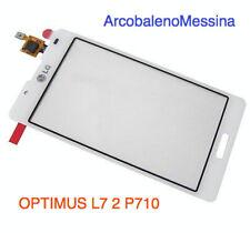 Kit TOUCH SCREEN +VETRO PER LG OPTIMUS L7 2 II P710 Display Lcd Nuovo Vetrino