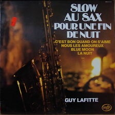 GUY LAFITTE/JACQUES DENJEAN SLOW SAX POUR UNE FIN DE NUIT FRENCH LP