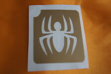 GT48 Body Art Temporary Glitter Tattoo Stencil Spider