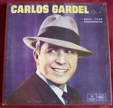 CARLOS GARDEL URUGUAY ONLY BOXSET VOL 4 ANTHOLOGY RARE!