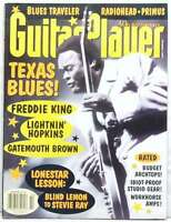 GUITAR PLAYER MAGAZINE FREDDIE KING BLUES TRAVELER LIGHTNIN HOPKINS PRIMUS RARE!