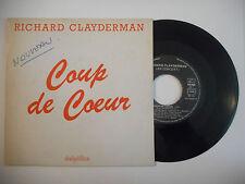 RICHARD CLAYDERMAN : COUP DE COEUR ( EN CONCERT ) ♦ PORT GRATUIT 45T PROMO ♦
