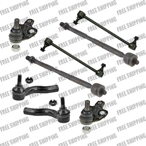 Steering Kit Tie Rod End Inner Outer Ball Joint SwayBar Link For Scion tC 05-10