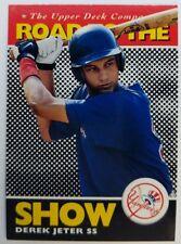 Derek Jeter 1995 95 Upper Deck Minor League Top Prospect RC ROOKIE #165 Yankees
