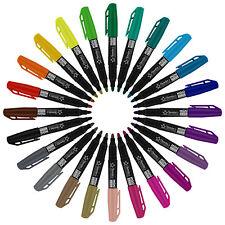 Торнтона канцелярских принадлежностей ассорти из мини-постоянные маркеры, тонкое перо, 24 штук