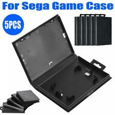 5Pcs Empty Game Shell Case Cover Protective Box Fit for Sega Genesis Cartridge