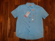 NWT Mens COLEMAN UPF 30 Quick Dry Heron Blue Shirt Size L Large $60