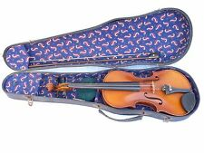 Old Bulagarian Violin Sradivarius  with Case complete set