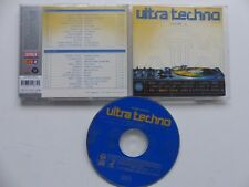 ULTRA TECHNO Vol 4 MOBY GREEN VELVET COSMIC BABY .. 2XCD ALBUM