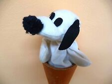 REDUCED:SNOOPY Handcrafted for Avia Taiwan 1964 Hand PUPPET in CONE