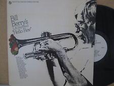 Bill Berry's L.A. Big Band - Hello Rev Live LP Cat Anderson/Blue Mitchell etc