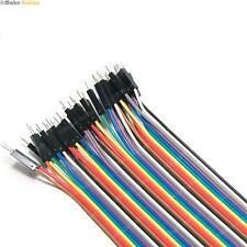 40 Male To Female Jumper Breadboard Wires Arduino 20cm