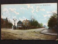 RP Vintage Postcard Warks. #B8 - Vicarage Road, Kings Heath - 1906