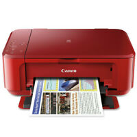 NEW! Canon PIXMA MG3620 Wireless All-in-One Inkjet Printer Red (No Ink Included)