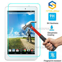 9H Hard Premium Tempered Glass Screen Protector Film For Acer Tablet PC New
