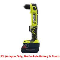 1x Milwaukee M18 Li-ion Battery to Ryobi 18V Cordless Tools Adapter w/USB Charge