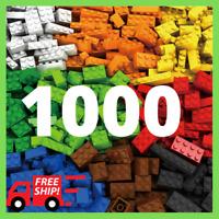 Lego 1000 Pieces Building Blocks City DIY Creative Bricks Educational Kids Toys
