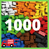 Lego 1000 Pieces Building Blocks City DIY Creative Bricks Educational Kids Toys