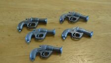 "VINTAGE BUNDLE ""ACTION MAN"" 5 x GREY HANDLED FLARE GUNS 1/6th SCALE TOYS"