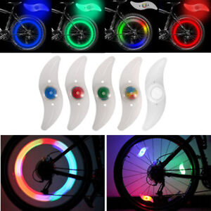 3 mode LED Spoke Light Bicycle Safety Bike Cycling Wheel Tyre Bright Flash Night