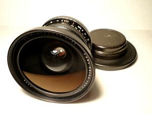 Carl Zeiss Jena Flektogon RED MC 4/50 TOP Condition Lens Pentacon Six Exakta 66