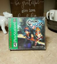 NEW Chrono Cross Playstation 1 Game PS1 Square Enix RPG Chrono Trigger Sequel
