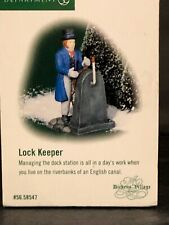 "(1) Department 56 Heritage Dickens Village 56.58547 ""Lock Keeper�"