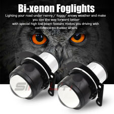 H11 HID Bi-xenon Fog Lights Driving Lamp Projector Lens Car Motorcycle Universal