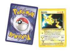 lot de deux Pikachu promo du film VF Pokemon Wizards