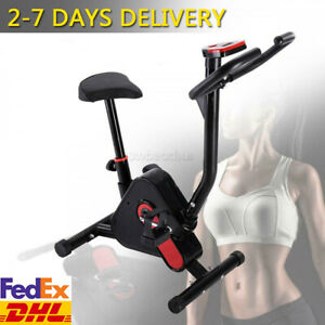Exercise Bike Cycling Trainer Cardio Indoor Gym Fitness Workout Machine Home DHL