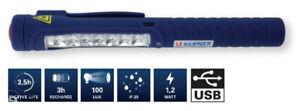 BERNER 200559 Pen Light 7 Led Micro USB Charging Workshop Light. Perfect gift