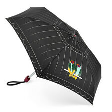 Lulu Guinness Por Fulton Pequeña 2 Paraguas-Amor Aves