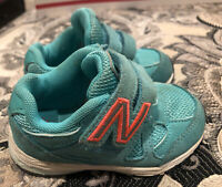 New Balance Infant Sneakers Shoes  Girls Boys Size 5 Very Good Preowned