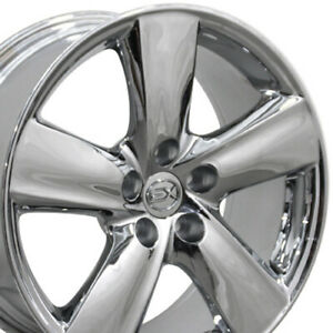 18 Inch Rim Fits Lexus LS460 Style Chrome 18x8  Wheel 74196 B1W