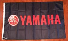 Yamaha Flag Banner 3x5 ft Japanese Motorcycle Bike Black Red
